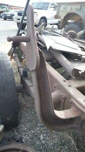 Dodge Wwii 1 2 Ton Wc 12 Etc Spare Tire Carrier