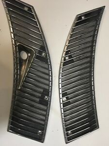 Mercedes W123 Oem Windshield Wiper Chrome Cowl Grill 300d 240d 280e With 5 Clips