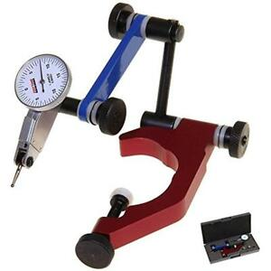 Test Dial Indicators 0 0005 0 15 0 And Universal Holder Quill Clamp For Mill