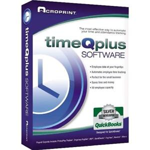 Timeqplus Scrapbooking Software Single Location Time And Attendance Clock