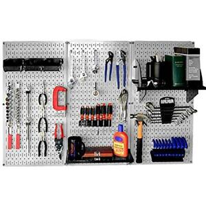 30 wrk 400gb Construction Boards Standard Workbench Metal Pegboard Tool