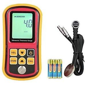 Digital Thickness Gauges Ultrasonic Meter Handheld Multi Testers Velocity Metal