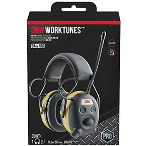 Worktunes Hunting Fishing Hearing Protector With Am fm Radio