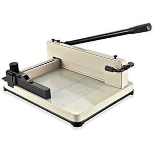Guillotine Stack Trimmers Paper Cutter 17 A3 Professional Industrial Heavy
