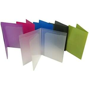 Products File Jackets Pockets 6 Port folder Assorted Pack Of 50374 3141