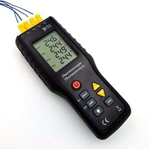 Perfect prime Thermocouple Blocks Tc41 4 channel K type Digital Thermometer