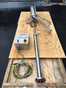 Vbs Cryotech Nitrogen Doser Injection System Injector