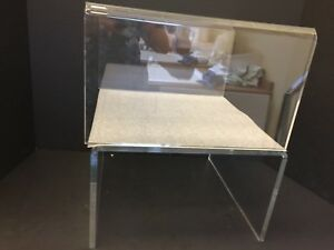 Large Clear Acrylic Riser 11 3 4 w X 12 d X 7 h Retail Display Riser Heavy Duty
