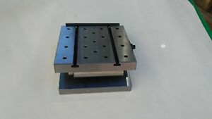 6 X 6 X 2 Precision Sine Plate With 1 4 20 Tapped Holes