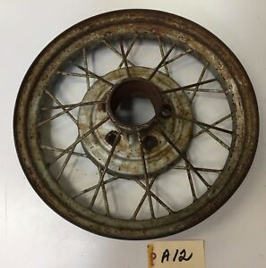 1930 1931 Ford Model A Wire Spoke Wheel Rim For Restore Needs Repair a12