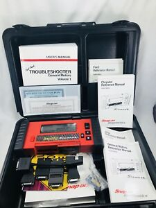Snap On Tools Mtg2500 Graphing Scanner Kit Excellent Forget Retail