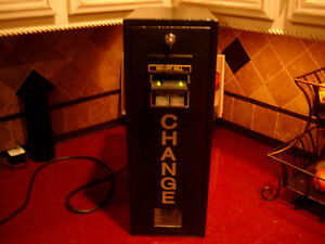 1 Dollar Bill Changer Seaga Model cm1000 120 Volt
