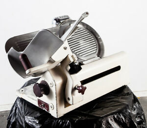 Globe Commercial Meat Slicer Gravity Feed Model 300 Working Repaired Heavy Duty