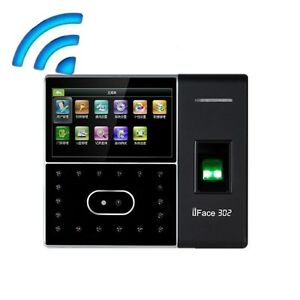 Zkteco Face Fingerprint Time Attendance Access Control Terminal With Wifi
