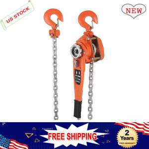 Multi sizes 1 5 Ton Lever Block Hoist Chain Ratchet Comealong Puller 5 10 20 Ft