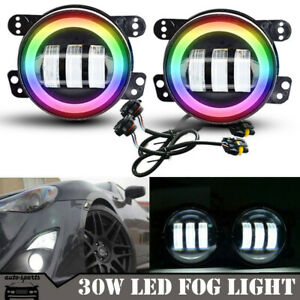 For Toyota Lexus Scio Tc Led Projector Fog Driving Lights Lamps Assembly 4