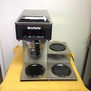 Bunn 3 Pot Pourover Coffee Brewer