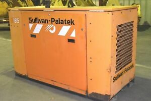 Sullivan Palatek 185 Skid Mount Air Compressor