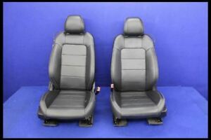 2016 2017 2018 Ford Mustang Coupe Leather Front Pair Seats Hot Rod