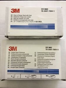 3m Surgical Clipper 9681 Drop in Charger Stand With Cord 9682