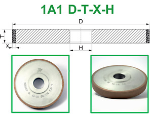 Diamond Straight Grinding Wheel 1a1 Any Bond All Dimensions Poltava
