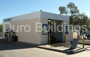 Durobeam Steel 30x50x10 Metal Rigid Frame Prefab Garage Workshop Building Direct