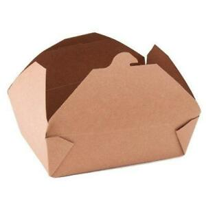 Southern Champion Tray 0763 3 Champpak Retro Take out Container Kraft