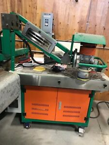 Metal Sander Industrial Jonsen Metal Grinder Bench Top With Vacuum Demo Machine