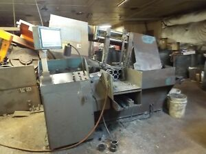 Doall Model C 4100nc Programmable Horizontal Band Saw