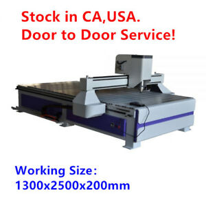 51 X 98 1325 Ad And Woodworking Cnc Router Machineer Machine With 3kw Spindle