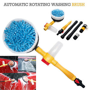 1885psi Car Rotating Pole Vehicle Washing Cleaning Brush Sponge Wash Cleaner