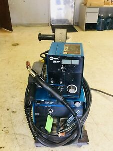 Miller Invision 456p 4 drive Roll Feeder Pulse Mig Welder