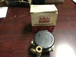 1957 Ford 312 Carburetor Choke Assembly Nos B7a 9850 B Fairlane Victoria 1958 59