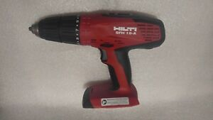Hilti Sfh 18 a 21 6v Cordless Hammer Drill Tool Only Used
