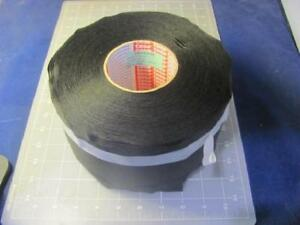 Case Of 4 Tesa 51026 Pv6 115mm Acrylic Black Pet Cloth Wire Harness Tape 4 5 In