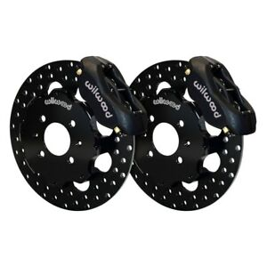 For Honda Fit 07 13 Brake Kit Drag Race Drilled Rotor Forged Dynalite Caliper