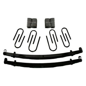 For Chevy Blazer 73 91 Skyjacker C140 4 Softride Front Lifted Leaf Springs