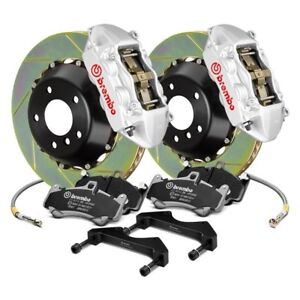 For Volkswagen Beetle 12 16 Gt Series Slotted 2 Piece Rotor Front Big Brake Kit