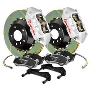 For Ford Fiesta 10 19 Brembo Gt Series Slotted 2 piece Rotor Front Big Brake Kit