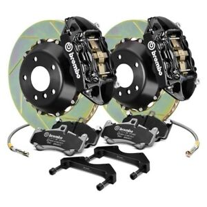 For Ford Mustang 94 04 Gt Series Slotted 2 Piece Rotor Front Big Brake Kit