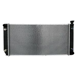 For Cadillac Escalade 99 00 Crossflow Radiator W Transmission Oil Cooler