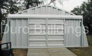 Durospan Steel A30x30x14 Metal Building Workshop as Seen On Tv Factory Direct