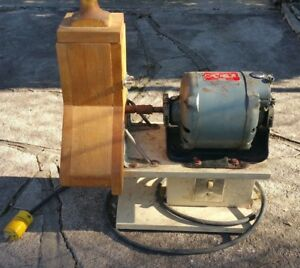 Vintage Electric Cheese Grater Delco 1 4 Hp Type A Electric Motor