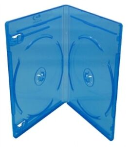 100 Premium Standard Blu ray Double Dvd Cases 12mm