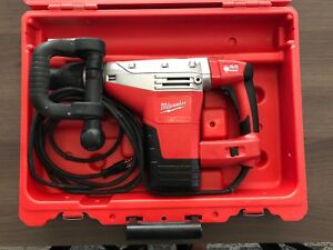 Milwaukee 5446 21 1 9 16 Sds Max Hammer Drill Demolition Hammer Kit Pre owned