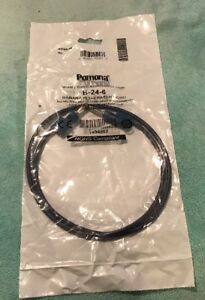 Pomona B 24 6 Banana Plug Patch Cord pack Of 12 New