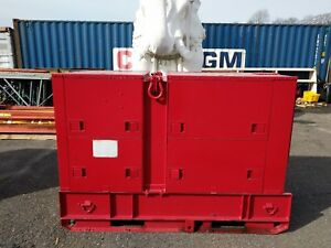 Hollingsworth Mep 005a Diesel Generator 30 Kw 50 60 Hz Only 88 Hours Military