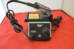 Weller Wes51 soldering Station w Pes51 Iron And Stand