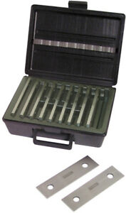 Fowler Precision Parallel Set 1 8 10 Pairs Made In The Usa Hardened Steel