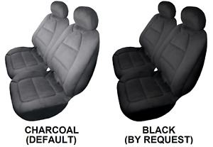 Pair Padded Velour Seat Covers For Mg Mga Rwd Coupe